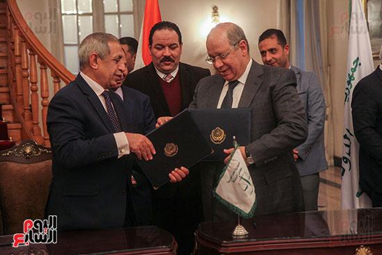 برتوكول تعاون مع البحرية العربية لتكنولوجيا المعلومات (5)