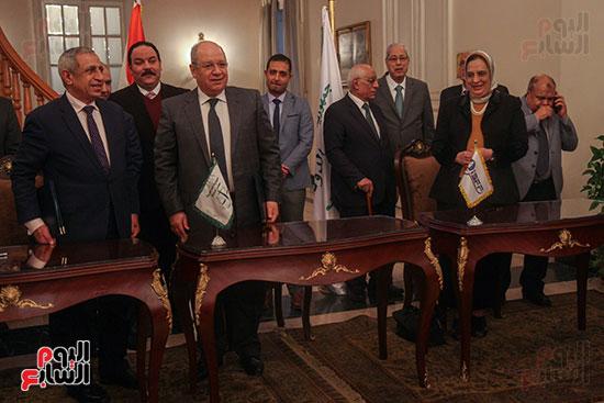 برتوكول تعاون مع البحرية العربية لتكنولوجيا المعلومات (7)