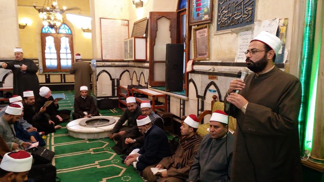 أوقاف الإسكندرية تكرم 60 من الأئمة (3)
