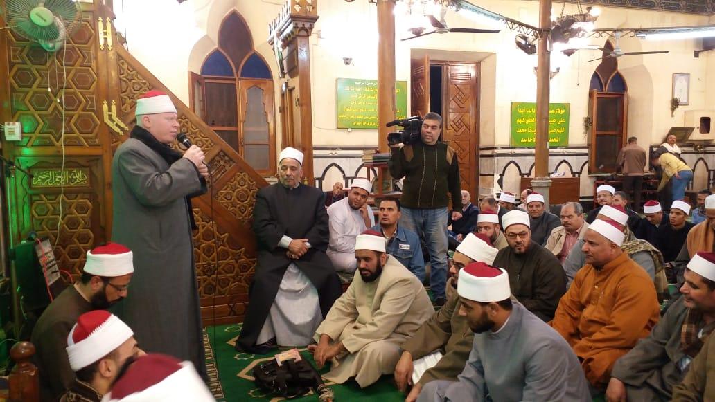 أوقاف الإسكندرية تكرم 60 من الأئمة (4)