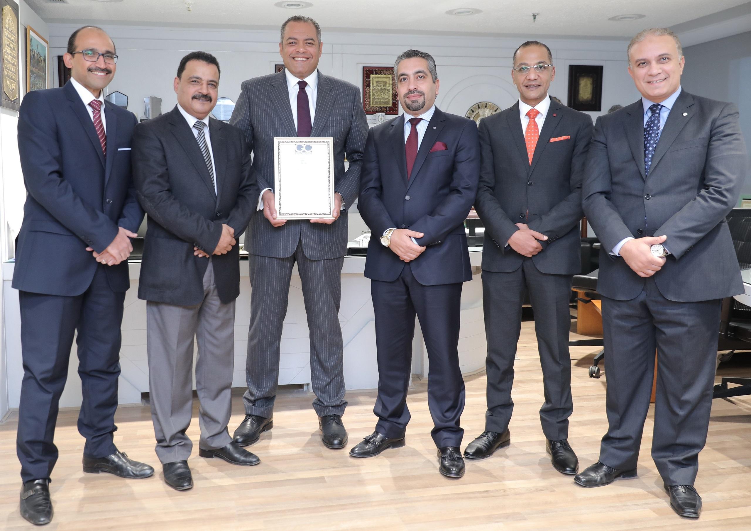 اختيار المجموعة القانونية بالبنك الأهلى المصرى ضمن قائمة GC Powerlist لأقوى المجموعات القانونية