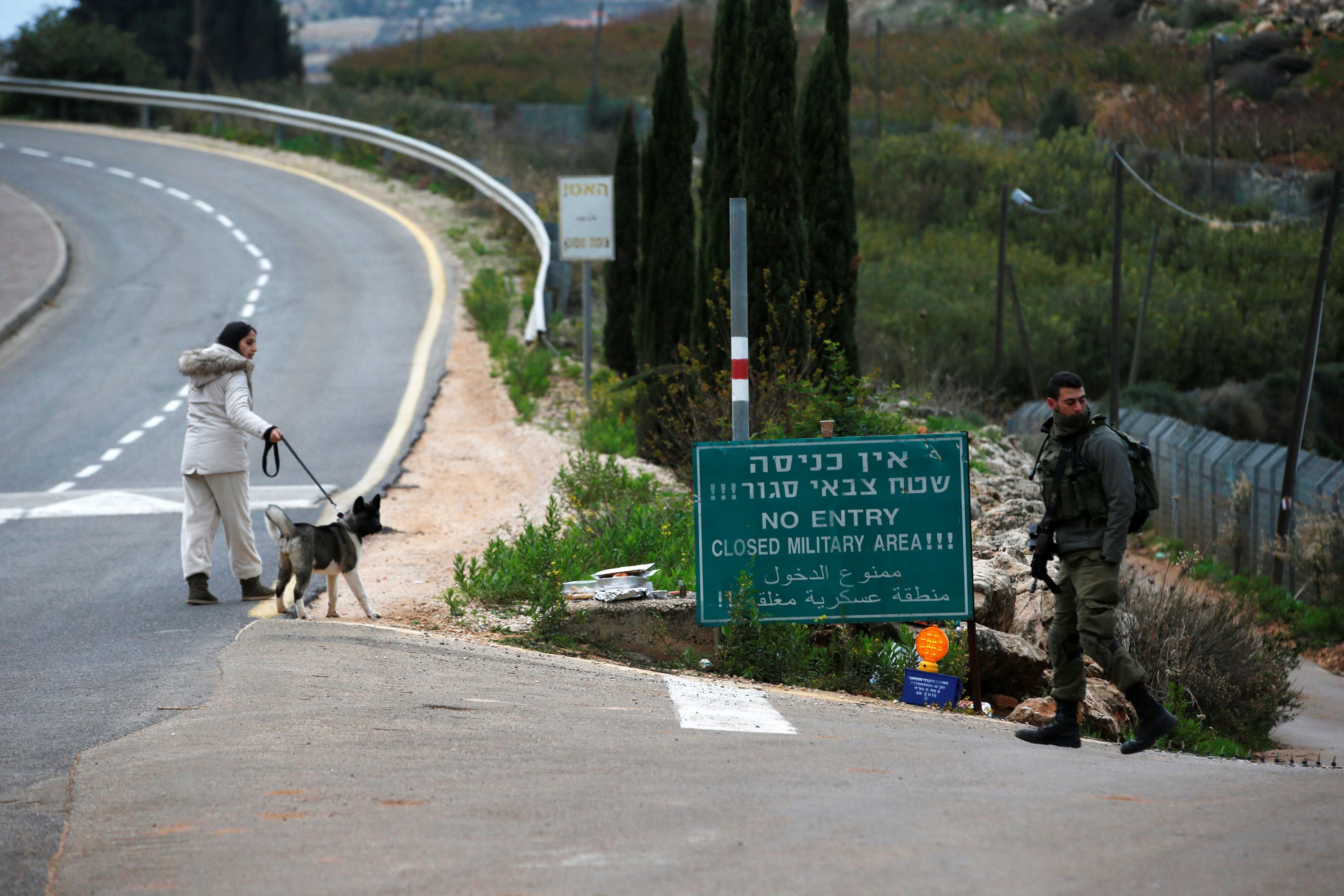 عملية درع الشمال على الحدود مع لبنان