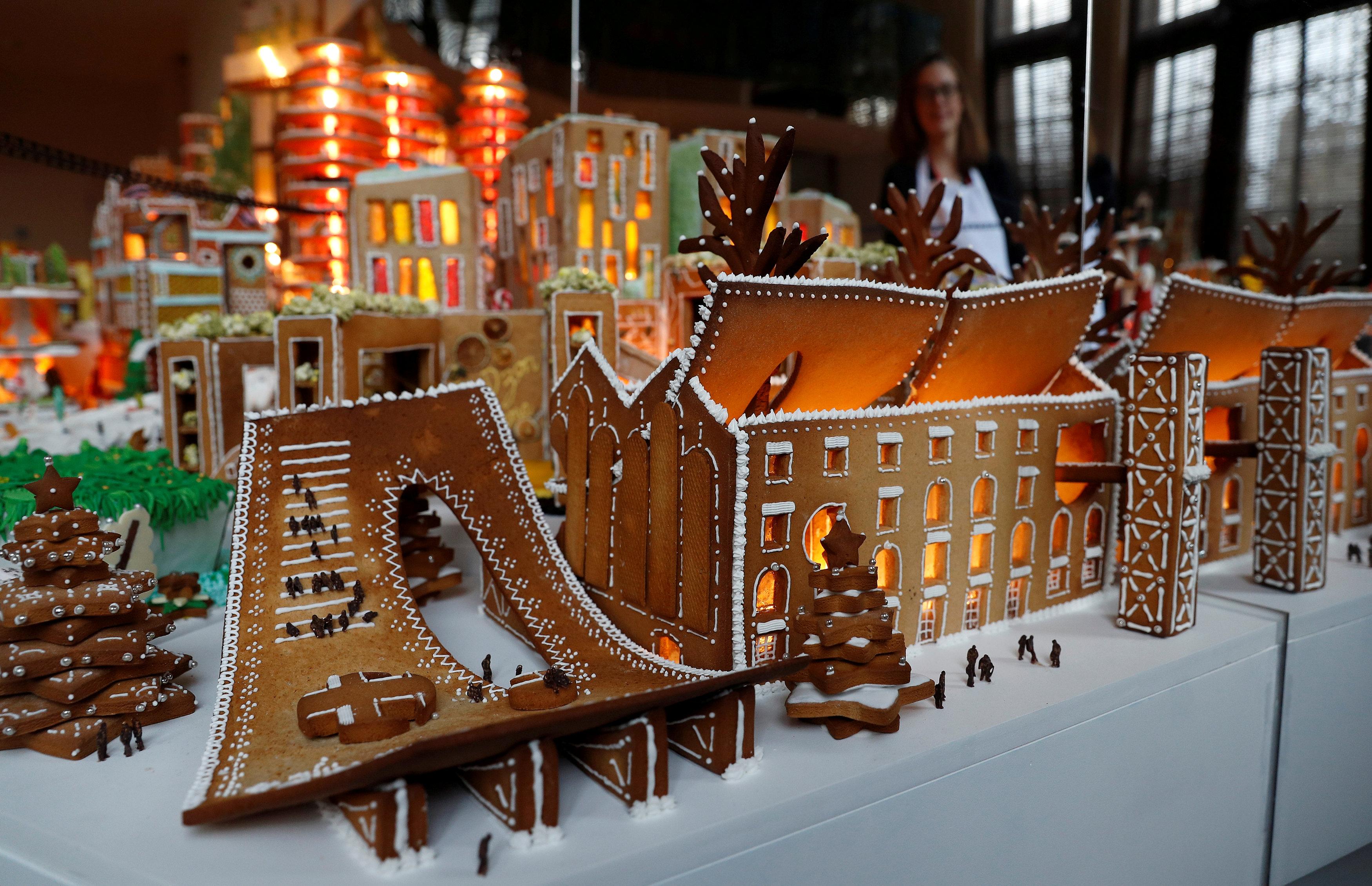 المدينة مصممة من قبل مهندسين معماريين