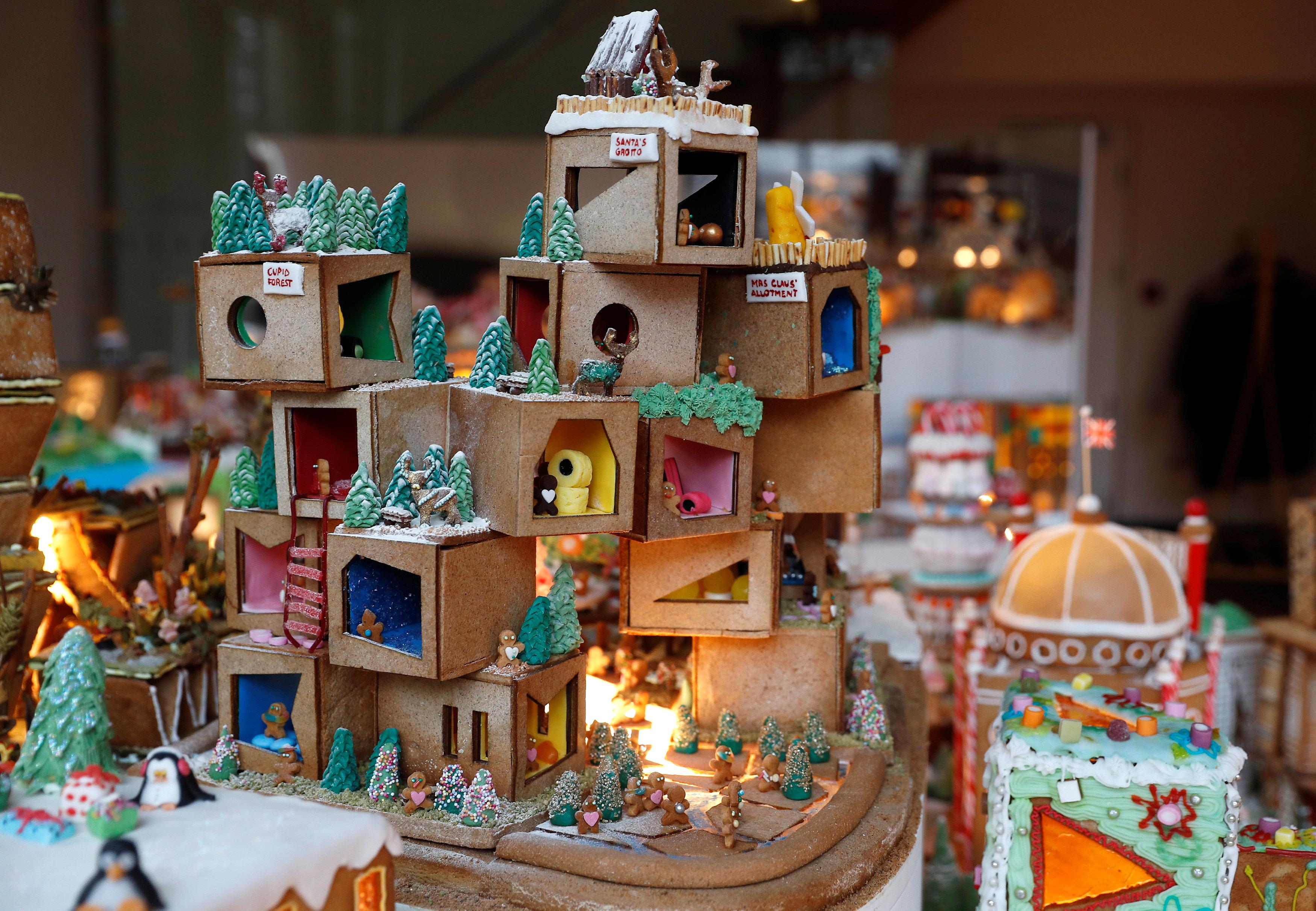 مساكن مصنوعة من مواد صالحة للأكل