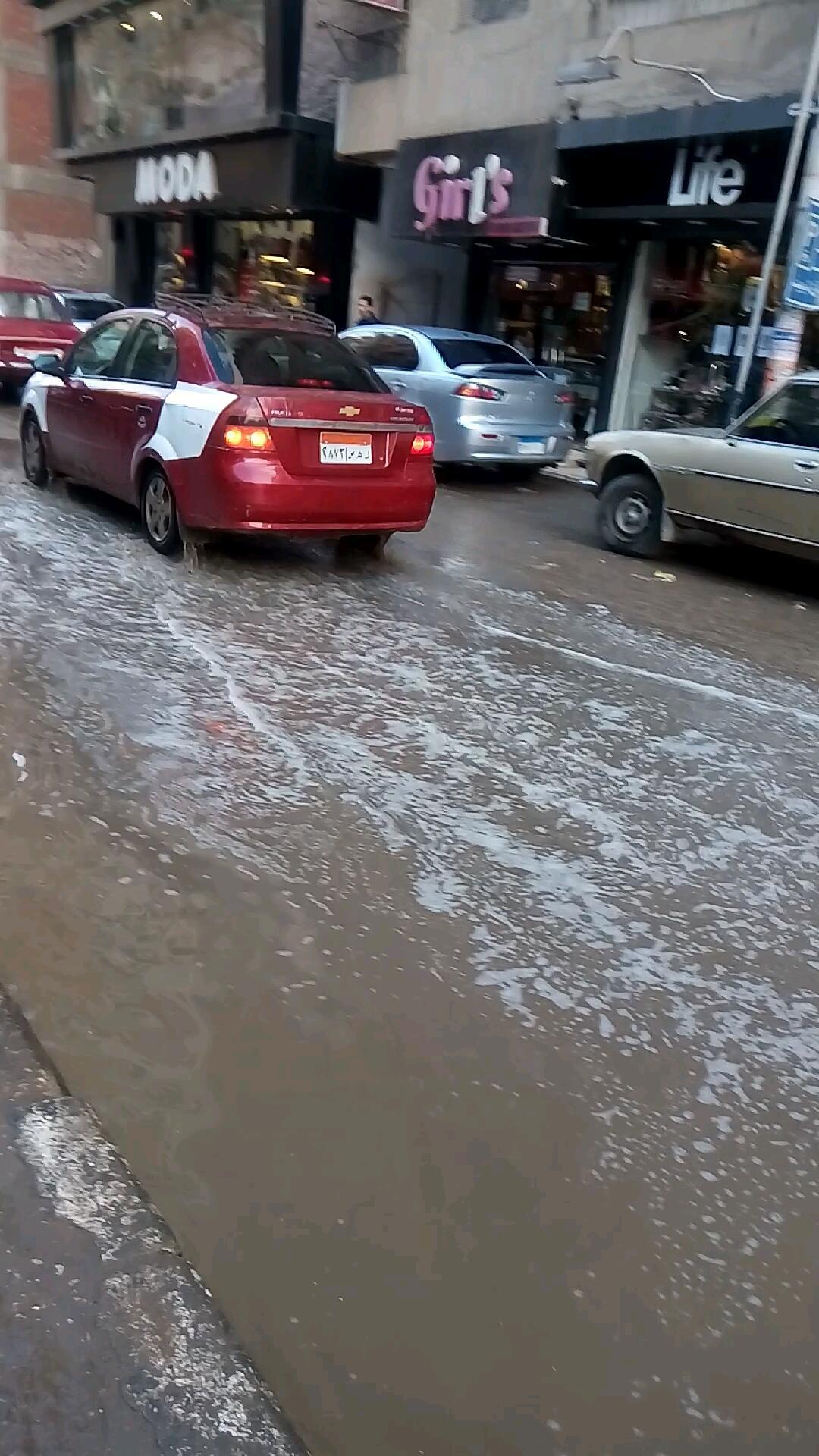 غرق شوارع الشرقية بسبب الأمطار (6)