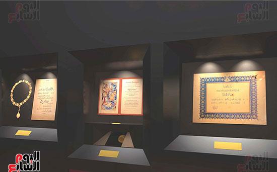 صالة-عرض-المقتنيات-المتحفية-لنجيب-محفوظ-(1)