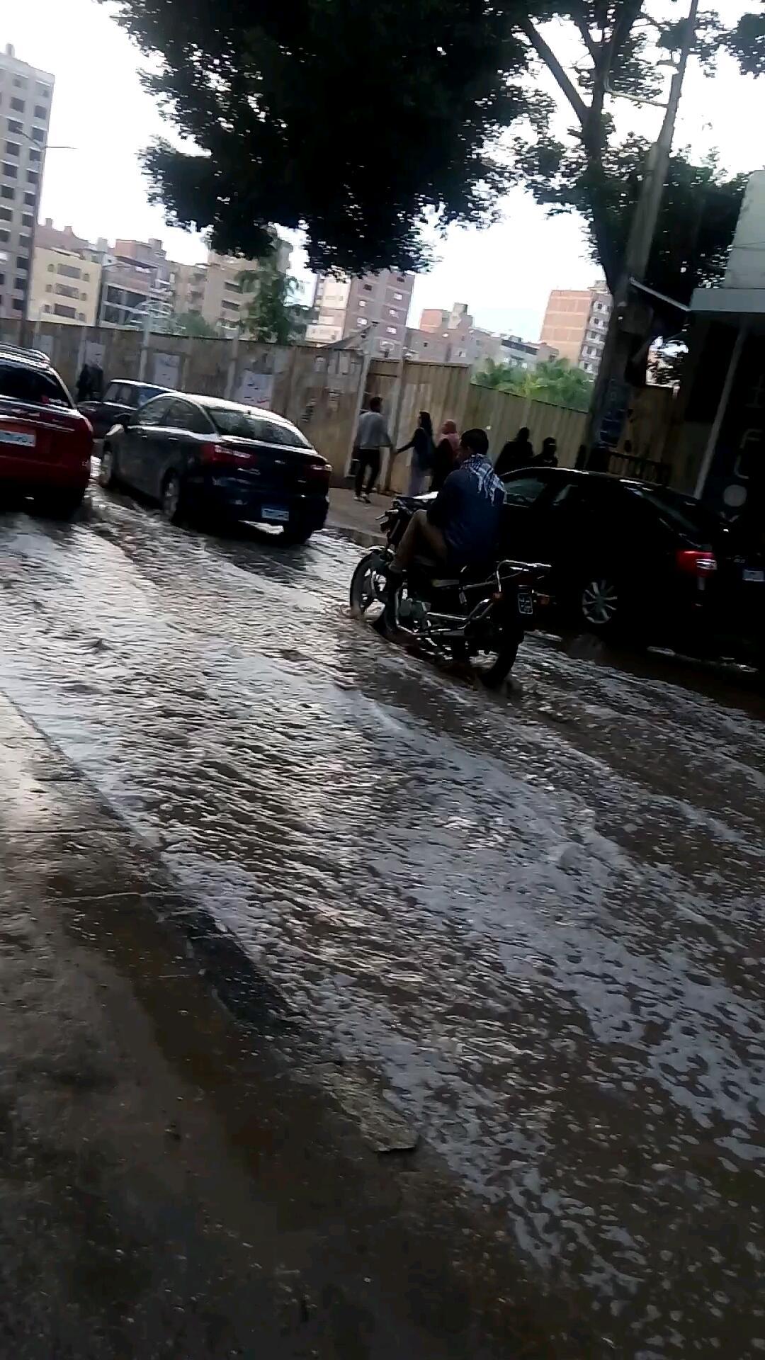 غرق شوارع الشرقية بسبب الأمطار (1)