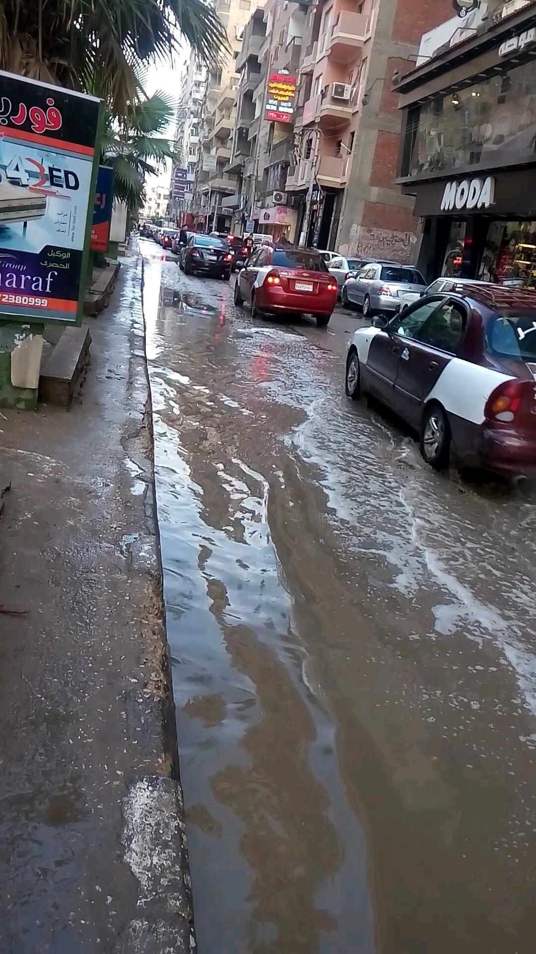 غرق شوارع الشرقية بسبب الأمطار (8)
