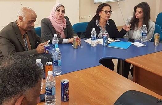 وفد  برنامج الأمم المتحدة   يزور مركز  استضافة وتوجيه المرأة بالمنيا (3)