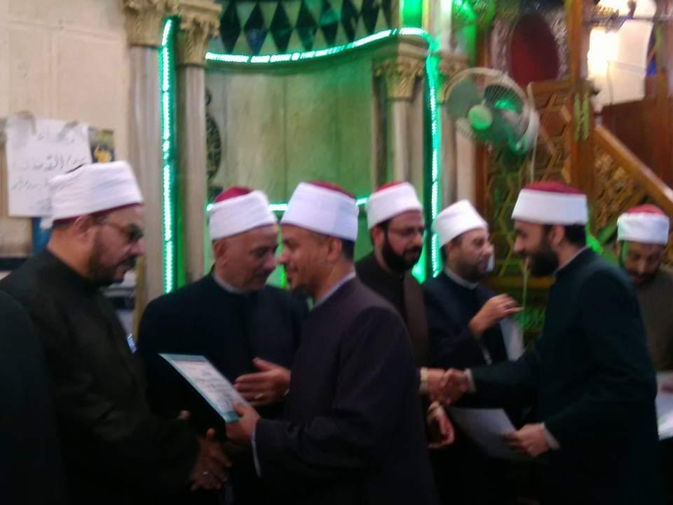 أوقاف الإسكندرية تكرم 60 من الأئمة (2)