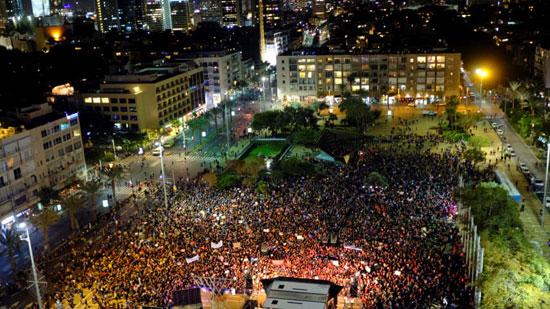 مظاهرت فى اسرائيل لتزايد العنف ضد النساء (2)