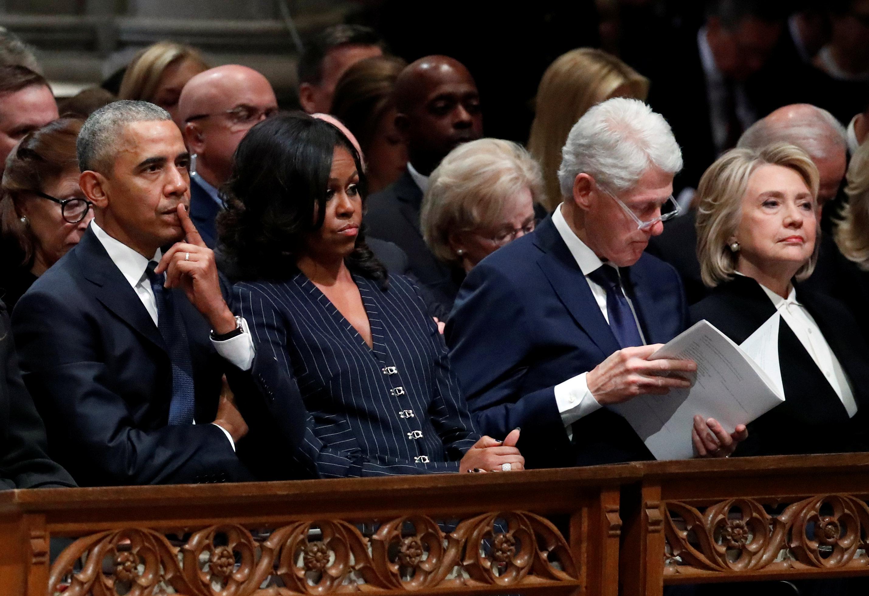 انطلاق مراسم جنازة الرئيس الأمريكى جورج بوش الأب (7)