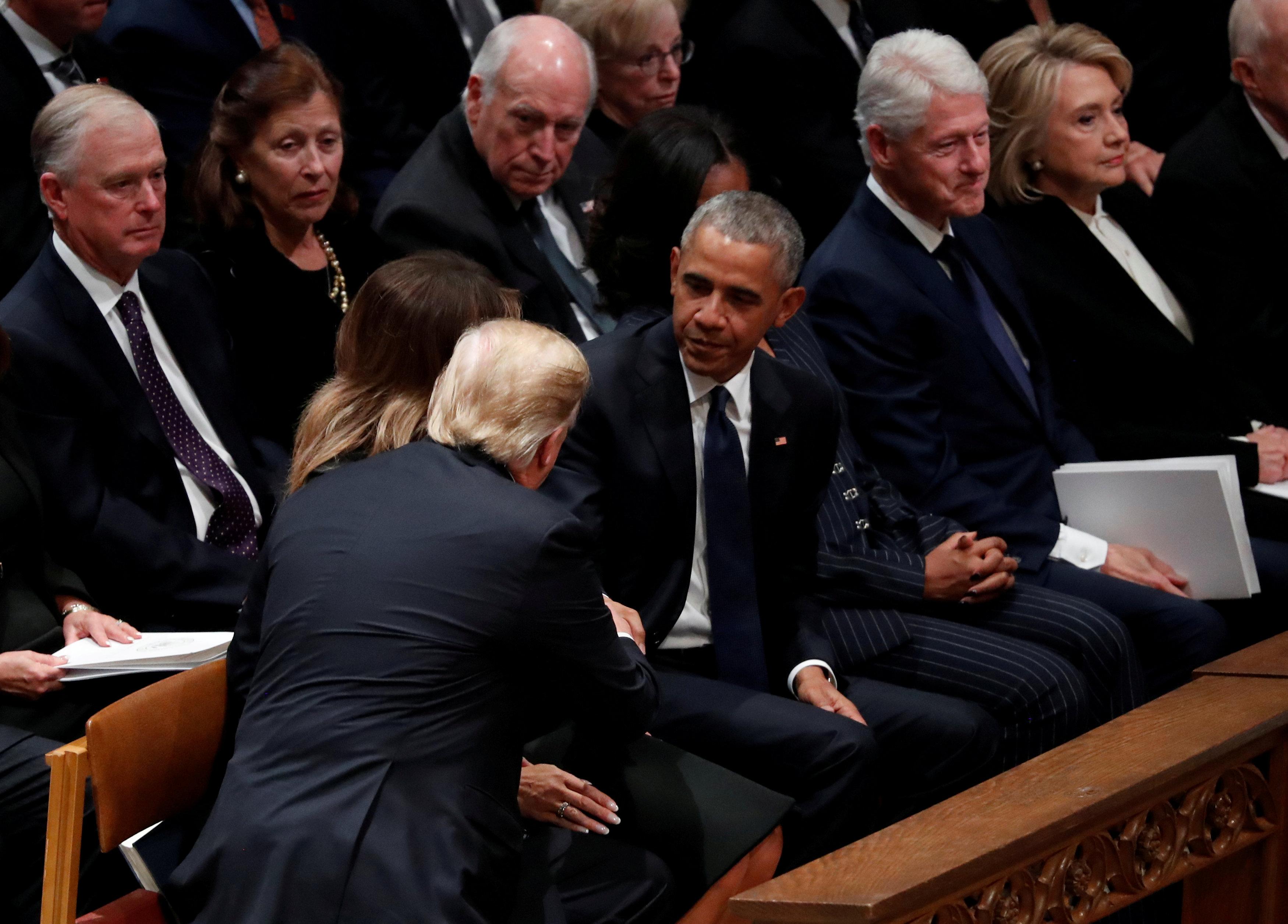 انطلاق مراسم جنازة الرئيس الأمريكى جورج بوش الأب (10)