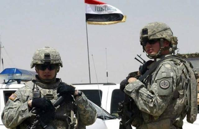 القوات الأمريكية فى العراق