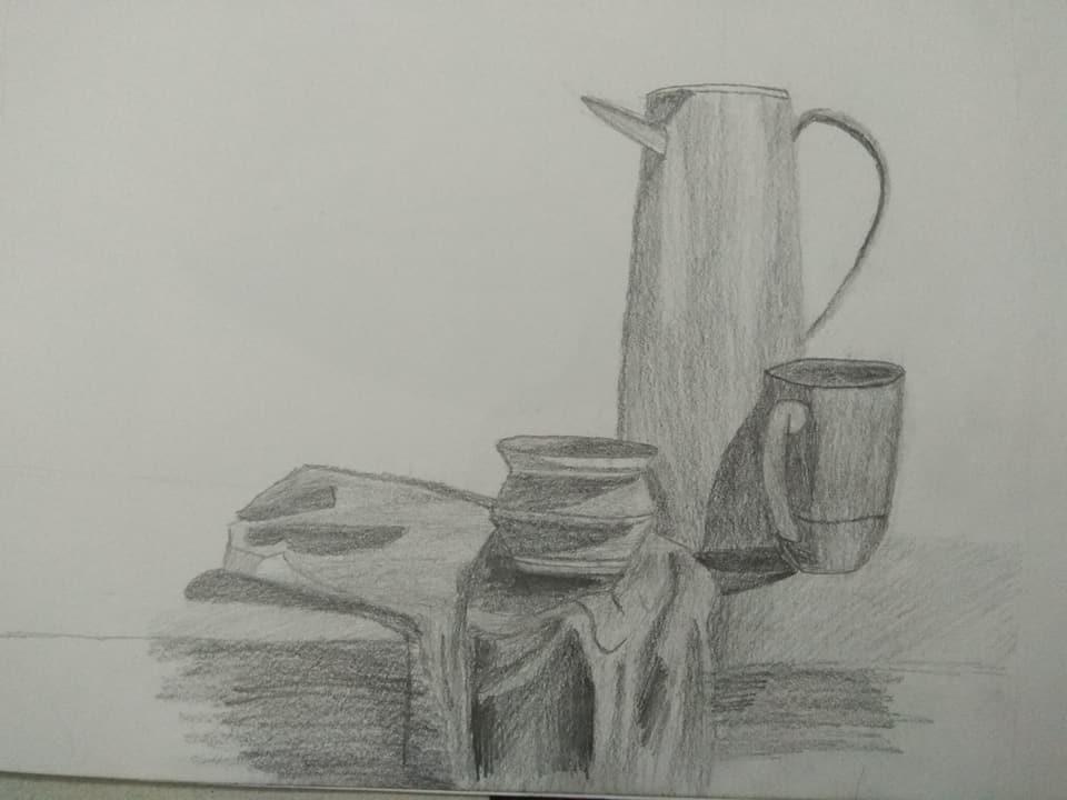 جانب من الرسم