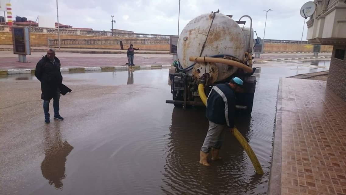 الأمطار فى دمياط (2)