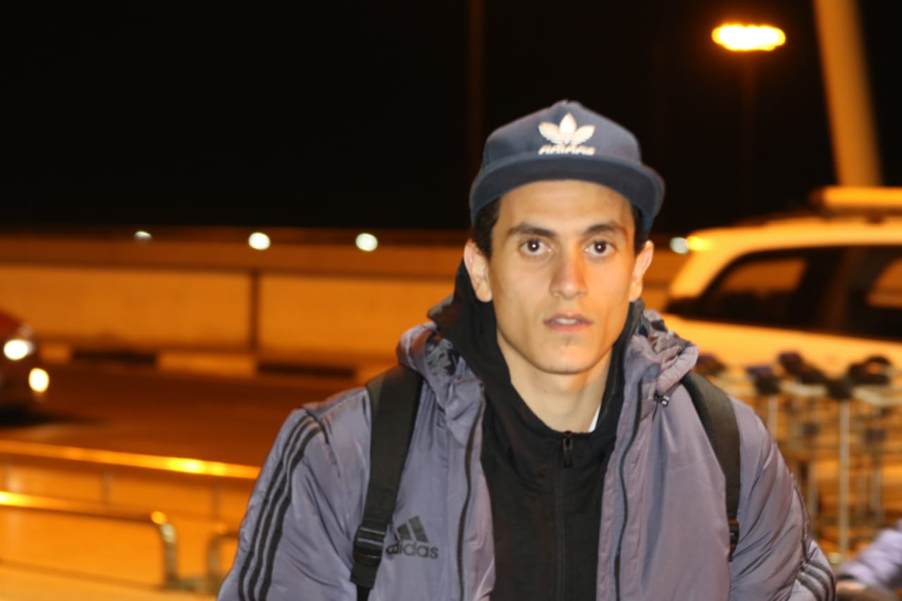 بعثة الإسماعيلى تصل مطار القاهرة استعدادًا للسفر للمغرب (15)