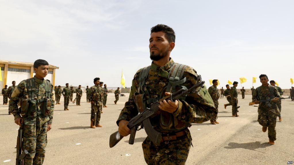 قتال ضد داعش فى سوريا