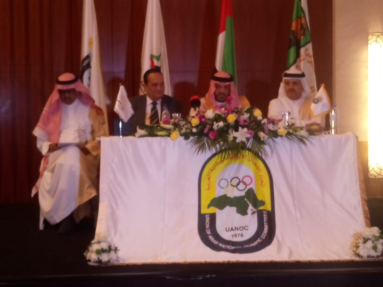 اعلان أحمد ناصر رئيس الاتحادات العربية