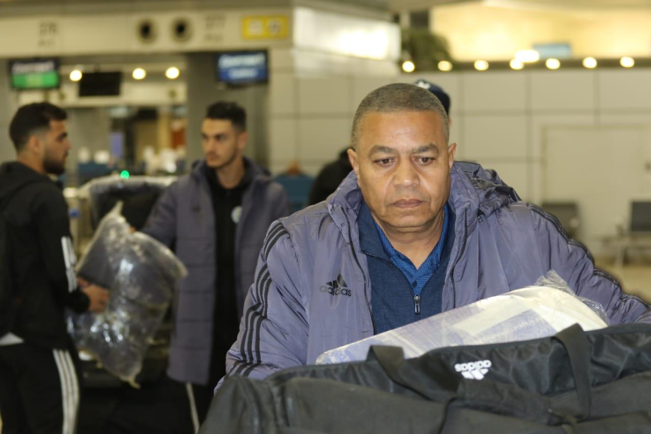 بعثة الإسماعيلى تصل مطار القاهرة استعدادًا للسفر للمغرب (17)