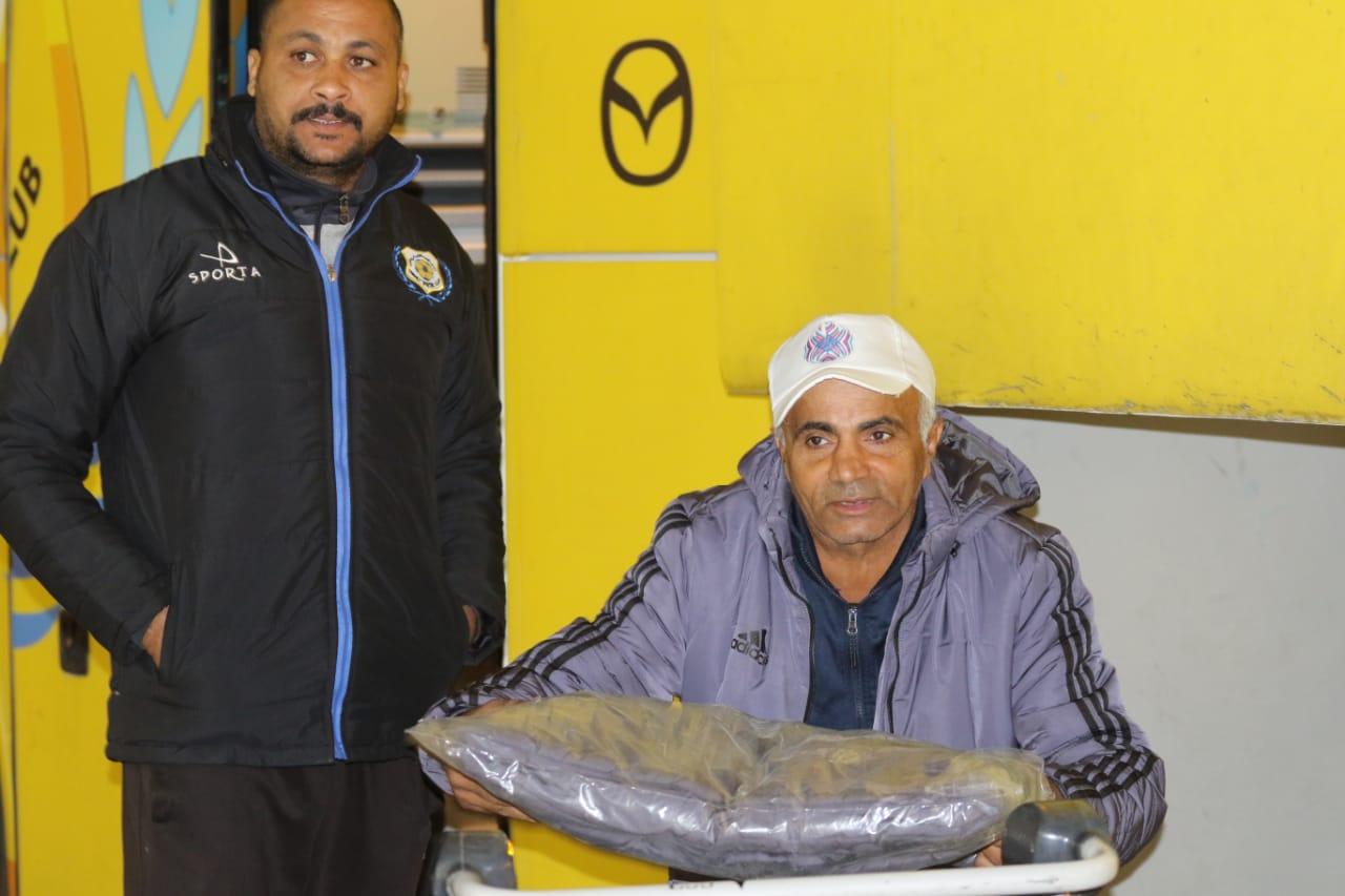 بعثة الإسماعيلى تصل مطار القاهرة استعدادًا للسفر للمغرب (6)