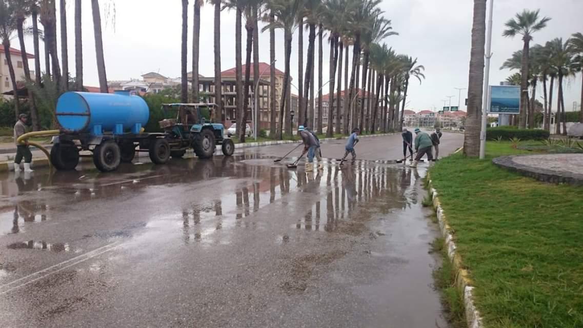 الأمطار فى دمياط (3)