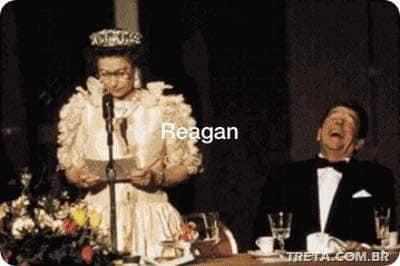 مع ريجان