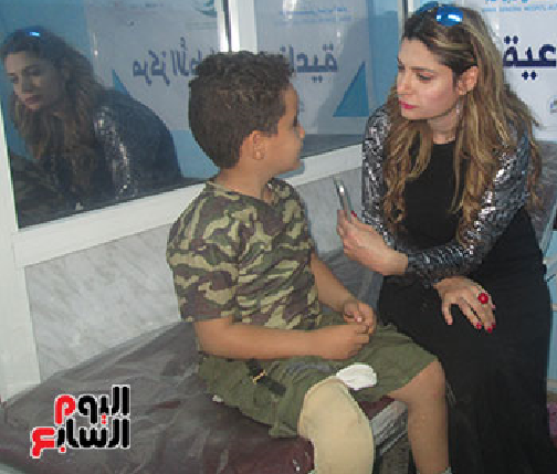 عمار يروى تفاصيل حادث قصفه بصاروخ الحوثى أثناء لعبه مع أصدقائه ليلة العيد