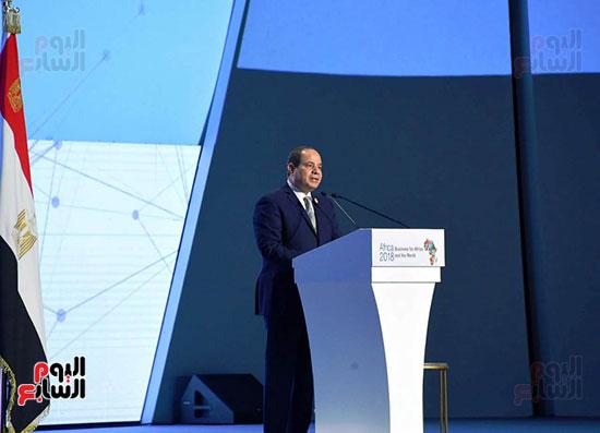 الرئيس السيسى يفتتح منتدى أفريقيا 2018 بشرم الشيخ (5)