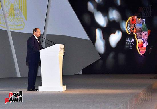 الرئيس السيسى يفتتح منتدى أفريقيا 2018 بشرم الشيخ (2)