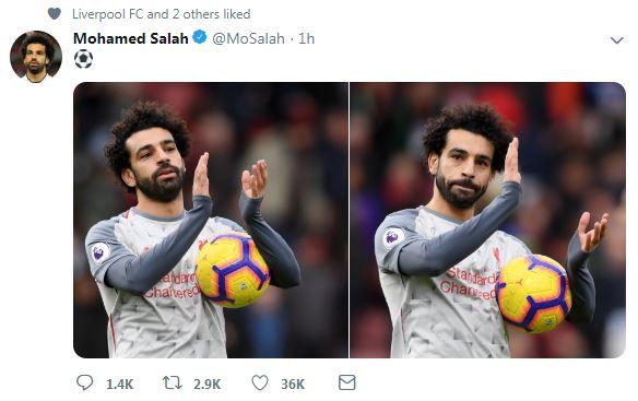محمد صلاح نجم نادى ليفربول