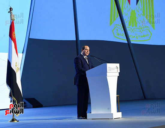 الرئيس السيسى يفتتح منتدى أفريقيا 2018 بشرم الشيخ (6)