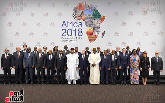 الرئيس السيسى يفتتح منتدى أفريقيا 2018 بشرم الشيخ (8)
