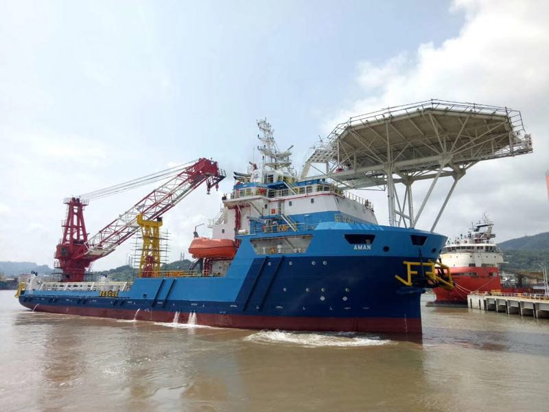 5- السفينة أمان طولها 85 متر