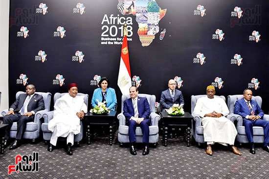 الرئيس السيسى يفتتح منتدى أفريقيا 2018 بشرم الشيخ (3)