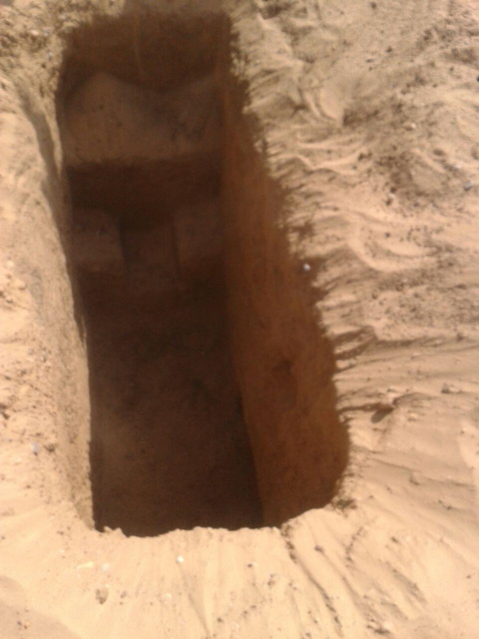 اكتشاف الآبار بمنطة أبو صير (1)