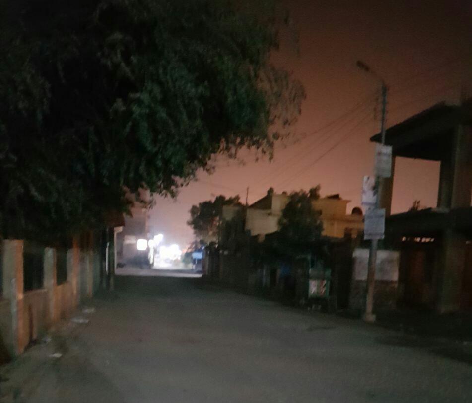 3- شوارع مظلمة بمدينة الواسطى