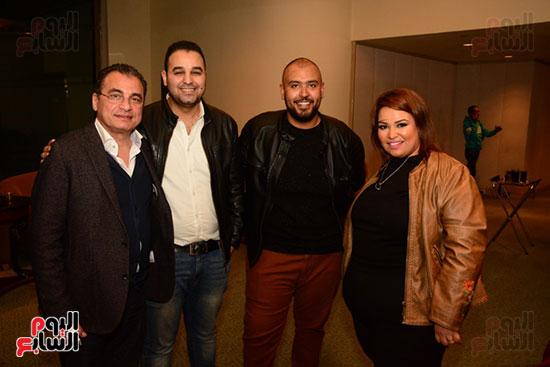 أشرف عبد الباقى ونجوم الفن يحتفلون بـالعرض 100 لمسرح مصر (47)