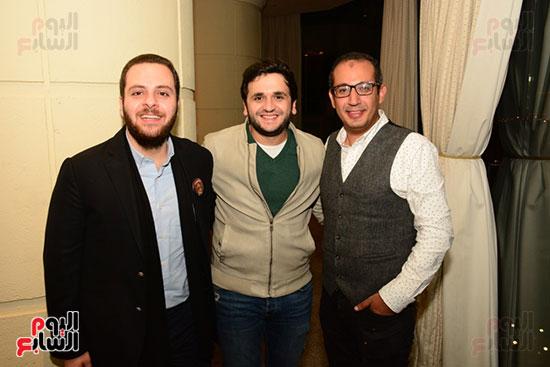 أشرف عبد الباقى ونجوم الفن يحتفلون بـالعرض 100 لمسرح مصر (49)