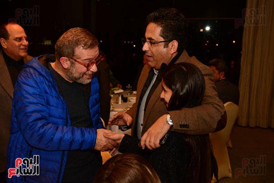 أشرف عبد الباقى ونجوم الفن يحتفلون بـالعرض 100 لمسرح مصر (44)