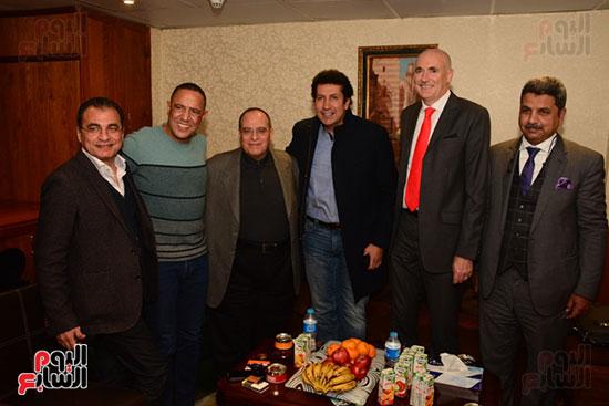 أشرف عبد الباقى ونجوم الفن يحتفلون بـالعرض 100 لمسرح مصر (59)