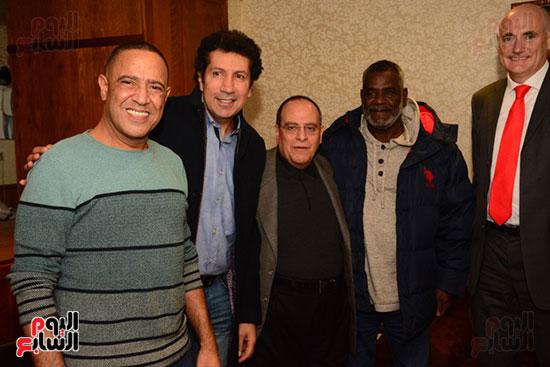 أشرف عبد الباقى ونجوم الفن يحتفلون بـالعرض 100 لمسرح مصر (63)