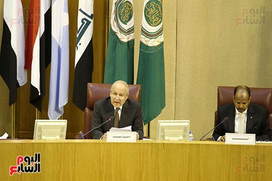 الاجتماع الطارئ لوزراء خارجية الدول العربية حول القدس (19)