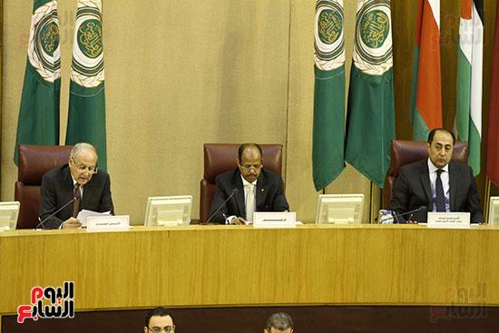 الاجتماع الطارئ لوزراء خارجية الدول العربية حول القدس (15)