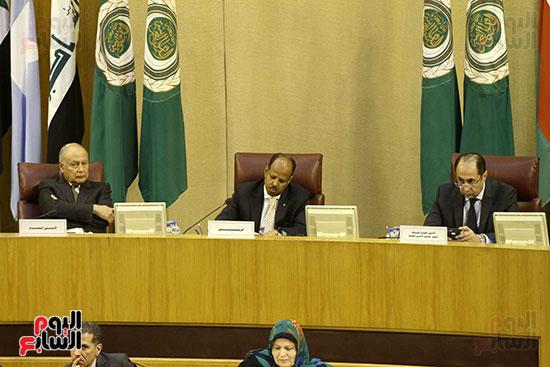 الاجتماع الطارئ لوزراء خارجية الدول العربية حول القدس (11)