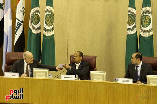 الاجتماع الطارئ لوزراء خارجية الدول العربية حول القدس (9)