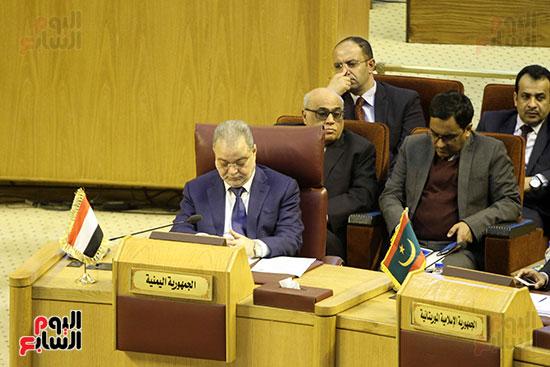 الاجتماع الطارئ لوزراء خارجية الدول العربية حول القدس (21)