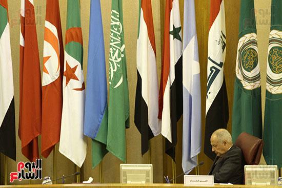 الاجتماع الطارئ لوزراء خارجية الدول العربية حول القدس (2)