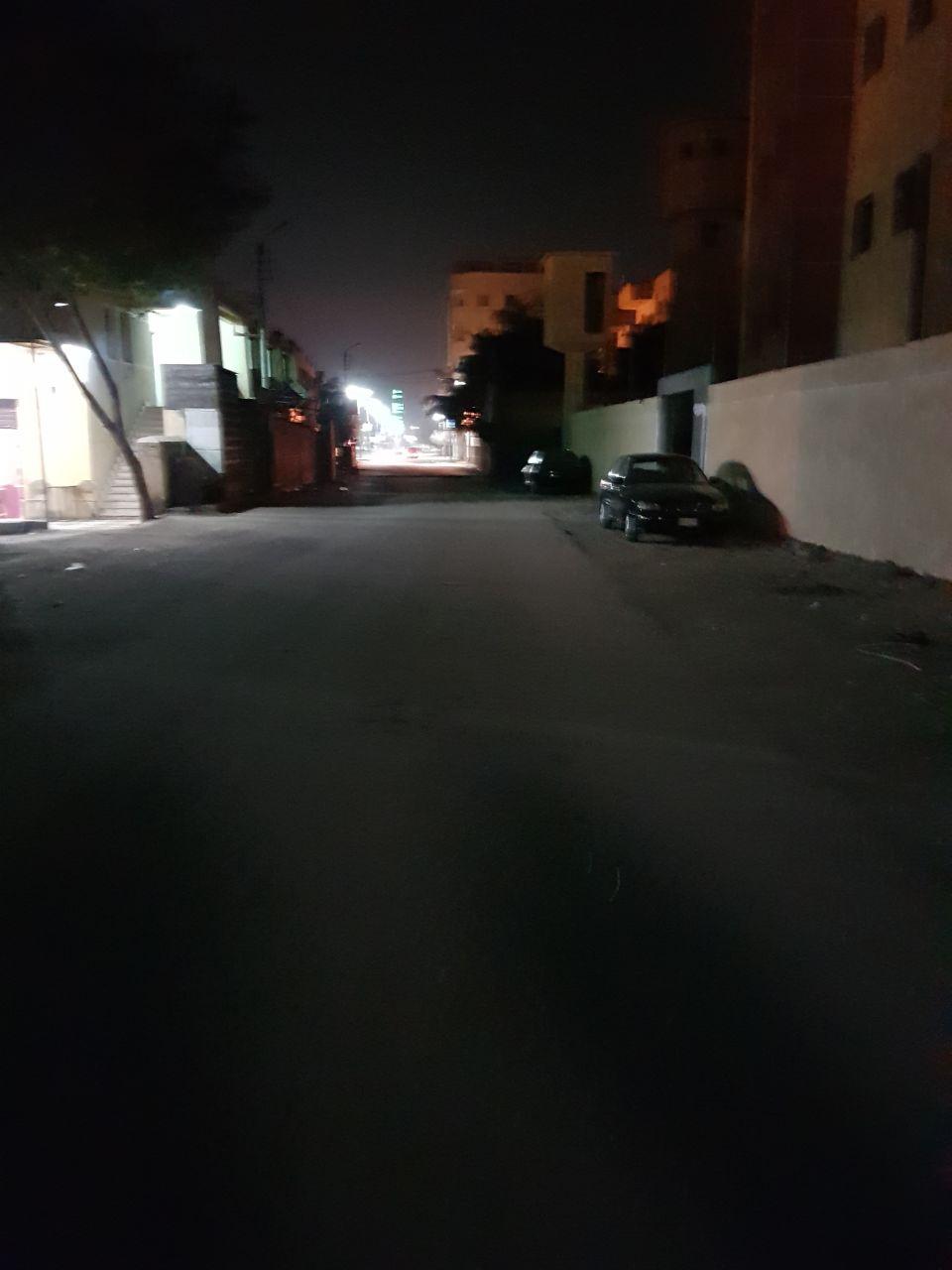 1- الظلام يسود مناطق بمدينة الواسطى