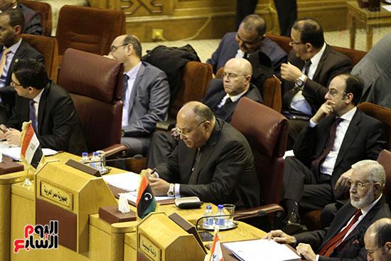 الاجتماع الطارئ لوزراء خارجية الدول العربية حول القدس (22)